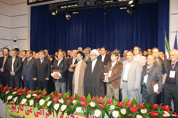 تجلیل از تولید کنندگان برتر بخش کشاورزی در تهران
