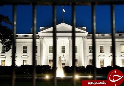 پرواز پهپاد ناشناس بر فراز ساختمان کاخ سفید