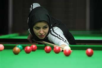 دختری که نابغه بیلیارد ایران است
