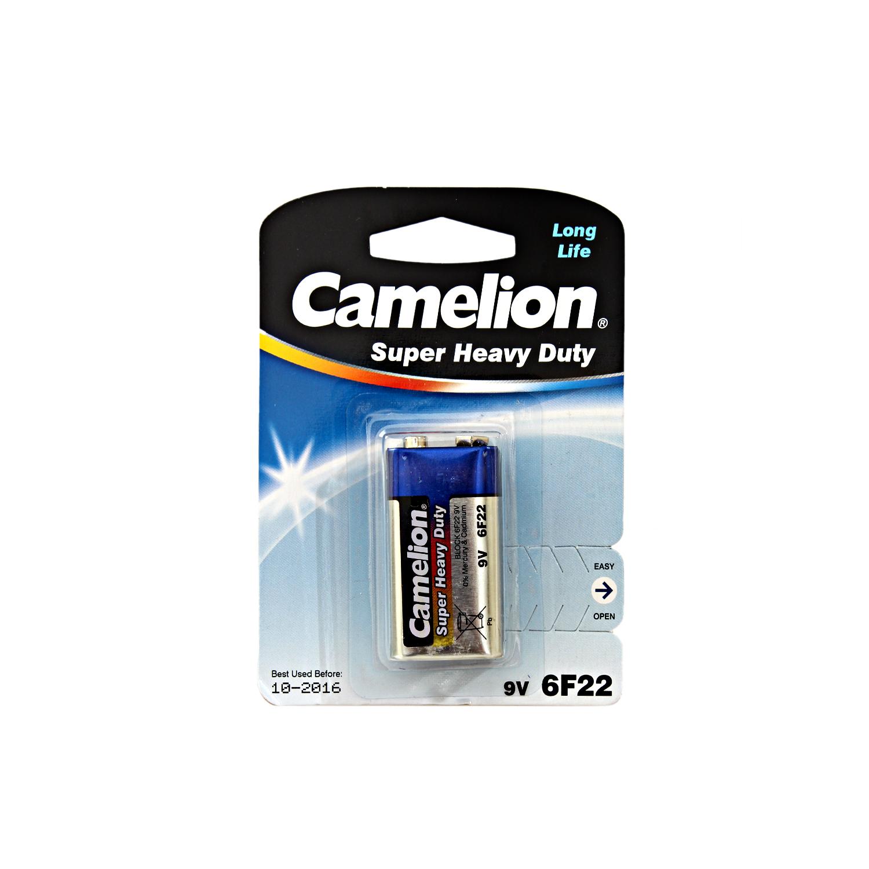 باطری کتابی کارتی Camelion Super Heavy Duty 6F22
