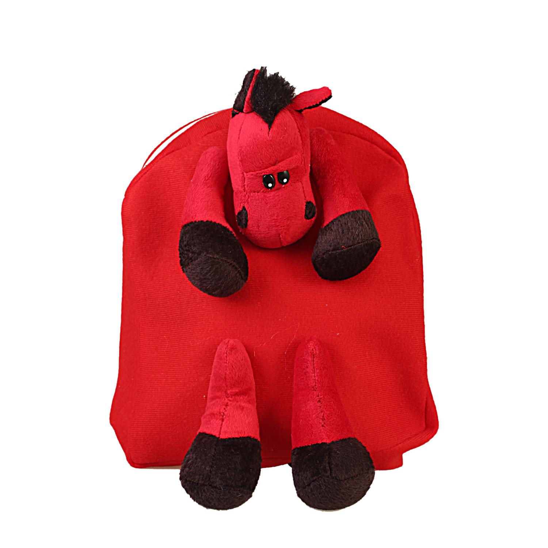 کوله پشتی اسبی قرمز
