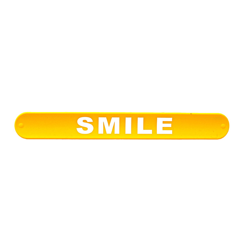 دستبند ضربهای Smile زرد