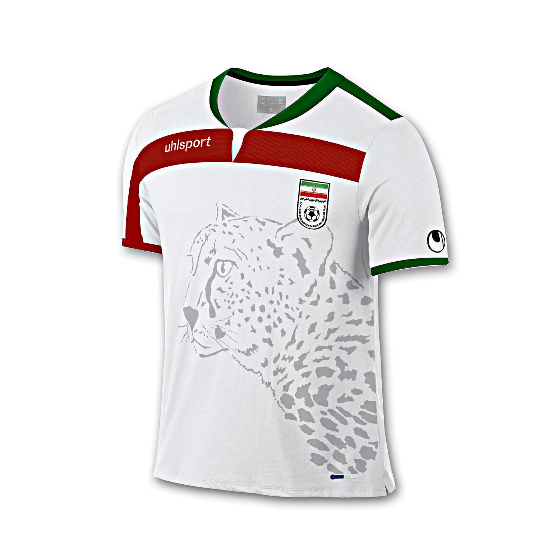 پیراهن و شورت سفید طرح تیم ملی سایز 60 (تولید ایران)
