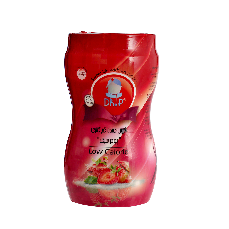 پودر شیرین کننده بدون کالری رژیمی دکتر پی 110 گرمی