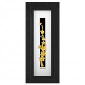 تابلو ستونی گل ریزه از روکش طلای 24 عیار