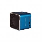 اسپیکر اپل مدل Music Angel JH-MD07U رنگ آبی با هدفون