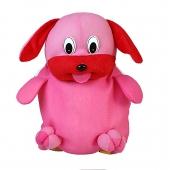 کوله پشتی سگ صورتی