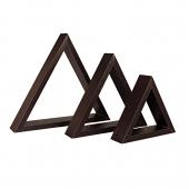 باکس 3 تکه چوبی مثلث