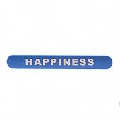 دستبند ضربهای Happiness آبی