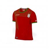 پیراهن و شورت قرمز طرح تیم ملی سایز 50 (تولید ایران)
