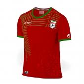 پیراهن و شورت قرمز طرح تیم ملی سایز بزرگسال (تولید ایران)