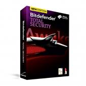 آنتی ویروس Bitdefender Total security سه کاربر
