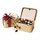 شکلات جعبه فلزی طلایی الیت
