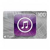 کارت هدیه iTunes 100$