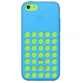 قاب گوشی iPhone 5C MF035FE آبی