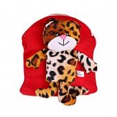 کوله پشتی یوزپلنگ ایرانی قرمز