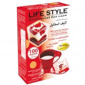 پودر شیرین کننده Life Style کم کالری 100 عددی