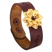 دستبند چرمی سنگ انیکس