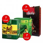 بسته چای رفاه 6 عددی کد 12