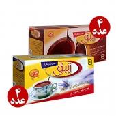 بسته چای کیسه ای زعفران و دارچین زنبق 8 عددی
