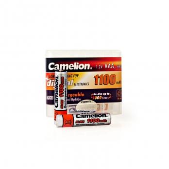 باطری نیم قلمی Camelion ACCU HR03 1100mAh شارژی