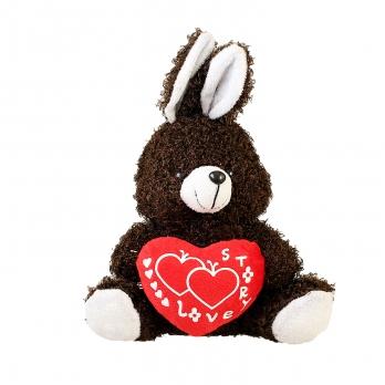 عروسک خرگوش قلبدار Love