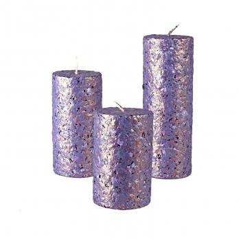 شمع استوانهای با پوشش گرانیت پول 3 سایز