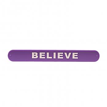 دستبند ضربهای Believe بنفش