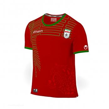 پیراهن و شورت قرمز طرح تیم ملی سایز 60 (تولید ایران)