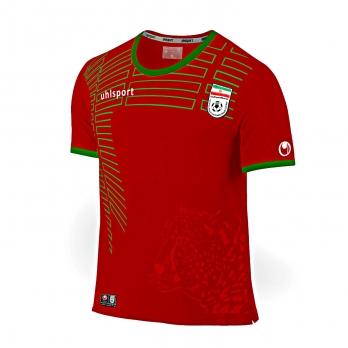 پیراهن و شورت قرمز طرح تیم ملی سایز 70 (تولید ایران)