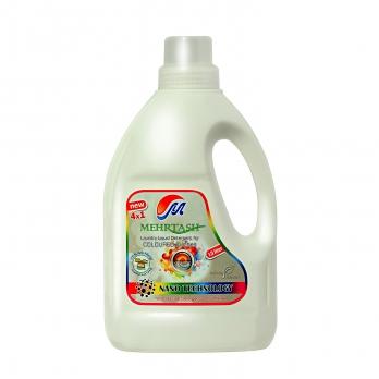 مایع لباسشویی رنگین شوی 4 در 1 مهرتاش 1.5 لیتری