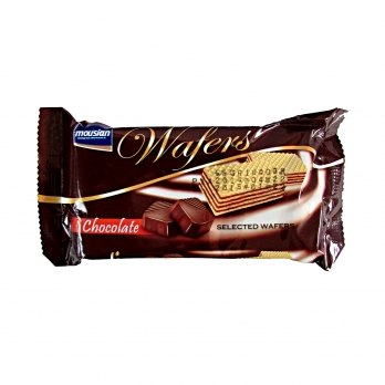 ویفر موسیان با طعم کاکائو