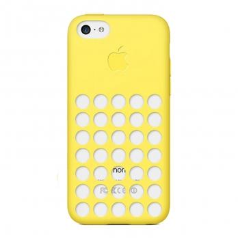 قاب گوشی iPhone 5C MF038FE زرد
