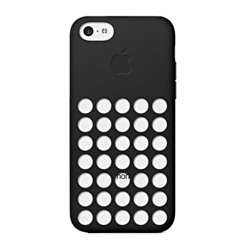 قاب گوشی iPhone 5C MF040FE مشکی