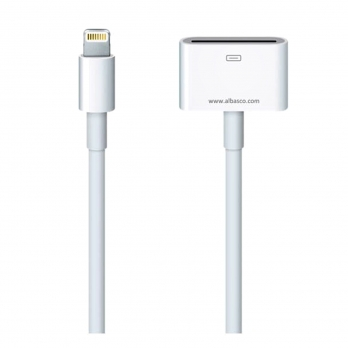 تبدیل با کابل 2متر Apple MD824ZM Lightning to 30 Pin