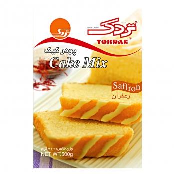 پودر کیک زعفرانی تردک 500 گرمی