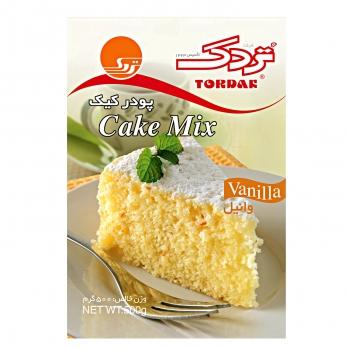 پودر کیک وانیلی تردک 500 گرمی