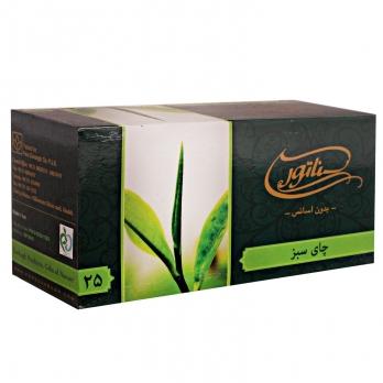چای سبز کیسهای سناتور 25 عددی