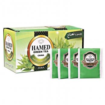 چای سبز با نعناع حامد 50 گرمی