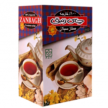 چای ممتاز سیلان شکسته عطری زنبق 450 گرمی