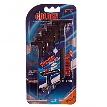 ژیلت Golden Blade تکنولوژی کانادا پنج عددی دو لبه بلستر