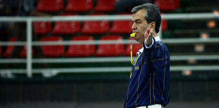 داورها و مسئولین والیبال