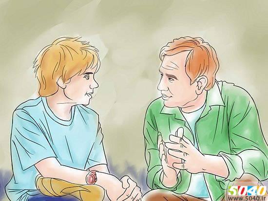فروشگاه اینترنتی 5040 - مطالب مفید و کاربردی - زندگی خانوادگی - چطور یک پدر خوب باشیم - ثبات قدم