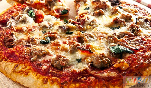 طرز تهیه پیتزای گوشت