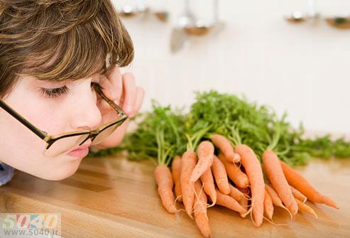 غذاهای مفید برای بهداشت چشم