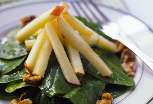 Spinach Salad With Apples