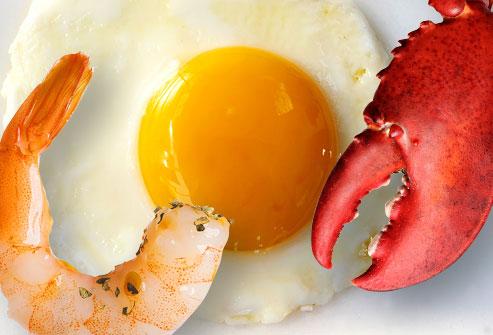 کلسترول موجود در مواد غذایی