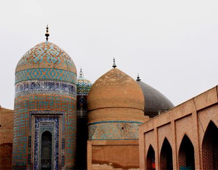 بقعه شیخ صفی الدین در اردبیل