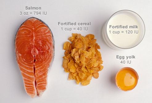 غذاهای دارای ویتامین دی