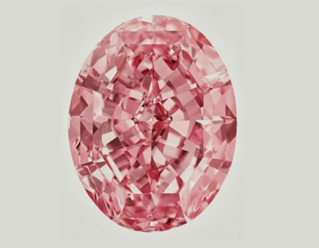 الماس ستارهی صورتی